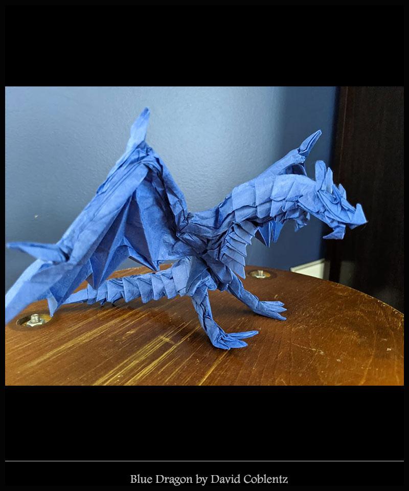 Blue Dragon by David Coblentzfin