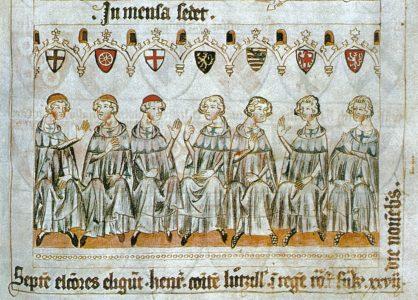 Seven Prince Electors, circa 1341