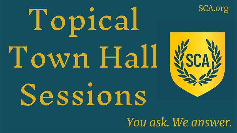 Topical Town Hall Sessions