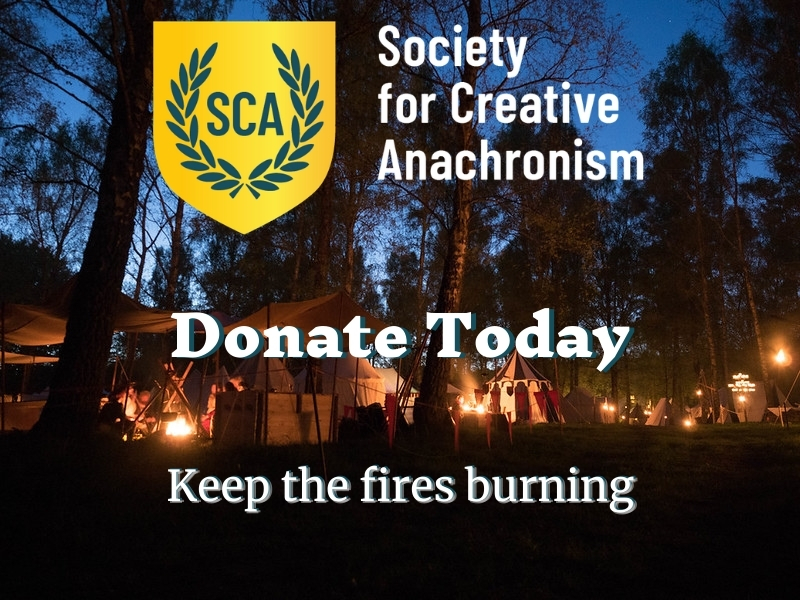 Donate to the SCA - Keep the Fires Burning