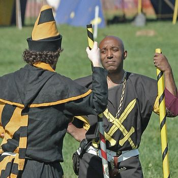 2 SCA Marshals having a discussion